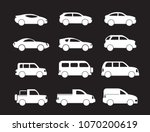 motor vehicle  pickup truck ... | Shutterstock .eps vector #1070200619
