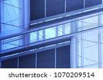 windows and doors of steel and... | Shutterstock . vector #1070209514