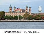 Ellis Island In Upper New York...