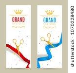 grand opening invitation banner.... | Shutterstock .eps vector #1070228480