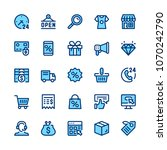 ecommerce  internet commerce ... | Shutterstock .eps vector #1070242790