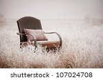 Vintage Chair On A Morning...