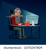 happy smiling modern... | Shutterstock .eps vector #1070247809