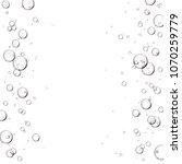 bubbles or skincare serum frame ... | Shutterstock . vector #1070259779