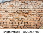 old brick wall background | Shutterstock . vector #1070264789