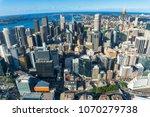 aerial cityscape of sydney cbd  ... | Shutterstock . vector #1070279738
