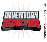 inventory reduction 3d headline ... | Shutterstock .eps vector #1070303666
