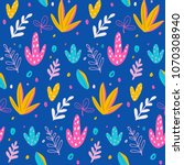 seamless pattern and background ... | Shutterstock .eps vector #1070308940