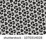 ornament with elements of black ... | Shutterstock . vector #1070314028