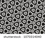 ornament with elements of black ... | Shutterstock . vector #1070314040