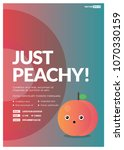 Just Peachy Party Poster...