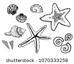 isolated easy childish hand... | Shutterstock .eps vector #1070333258