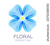 fantastic flower icon  abstract ...   Shutterstock .eps vector #1070338550
