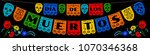 mexican bunting for day of the... | Shutterstock .eps vector #1070346368