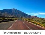 Road Towards Volcano El Teide...