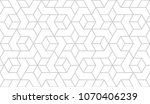 abstract geometric pattern with ... | Shutterstock .eps vector #1070406239