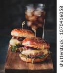 street food  fast food.... | Shutterstock . vector #1070416058