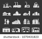 set vector white isolated on...   Shutterstock .eps vector #1070431823