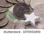 a quarter of idaho  quarters of ...   Shutterstock . vector #1070431850