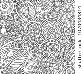 ethnic seamless pattern   Shutterstock .eps vector #1070434814