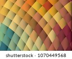 abstract grid square pixel... | Shutterstock .eps vector #1070449568