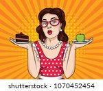 vector retro illustration pop...   Shutterstock .eps vector #1070452454
