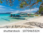 view of traditional boats at...   Shutterstock . vector #1070465324