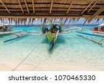 view of traditional boat at...   Shutterstock . vector #1070465330