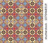 vector modern geometrical... | Shutterstock .eps vector #1070468519