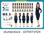 woman character creation set.... | Shutterstock .eps vector #1070471924