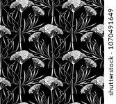 graphic cumin seamless pattern. ...   Shutterstock .eps vector #1070491649