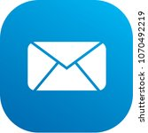 email icon vector design | Shutterstock .eps vector #1070492219