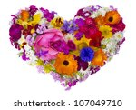 Summer Valentine Garden Flowers ...