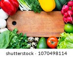 composition with different... | Shutterstock . vector #1070498114
