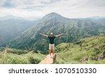 Traveler Man Enjoy Mountains...