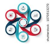 vector swirl elements for... | Shutterstock .eps vector #1070513270