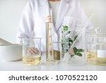 the scientist dermatologist... | Shutterstock . vector #1070522120