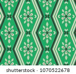 seamless pattern with zigzag... | Shutterstock .eps vector #1070522678