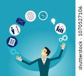business illustration concept... | Shutterstock .eps vector #1070527106