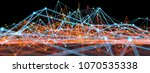 3d render abstract background.... | Shutterstock . vector #1070535338