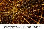 3d render abstract background.... | Shutterstock . vector #1070535344