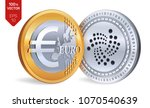 iota. euro. isometric physical... | Shutterstock .eps vector #1070540639