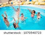 diversity multi ethnic... | Shutterstock . vector #1070540723