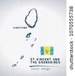 saint vincent and the... | Shutterstock .eps vector #1070555738