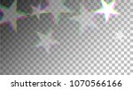 glitch art background. white... | Shutterstock .eps vector #1070566166