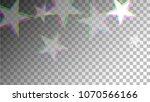 glitch art background. white... | Shutterstock .eps vector #1070566166