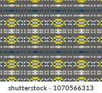 aztec tribal pattern  vector... | Shutterstock .eps vector #1070566313