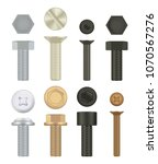 construction hardware icons.... | Shutterstock .eps vector #1070567276