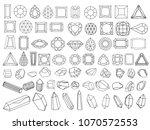 vector illustration set 71 of...   Shutterstock .eps vector #1070572553
