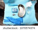 equipment tools for... | Shutterstock . vector #1070574374